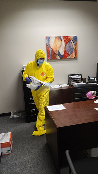 Covid-19 Cleaning Services in Houston, TX
